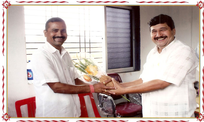 felicitation of Mr.More